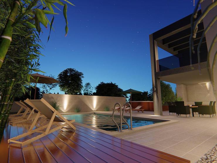 House H320 – Nin, Zaton